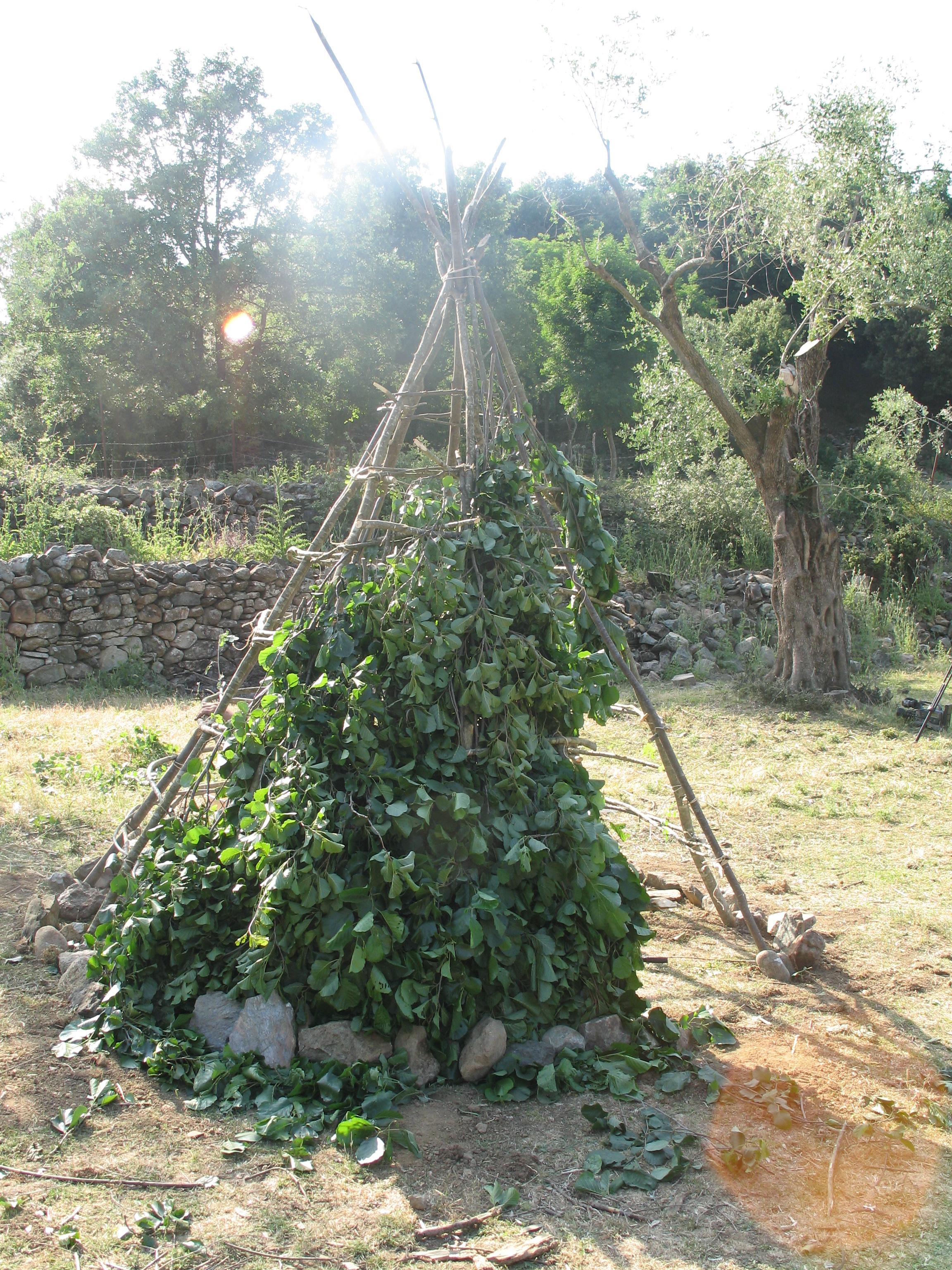 cabane néolithique